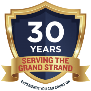 30 year business graphic