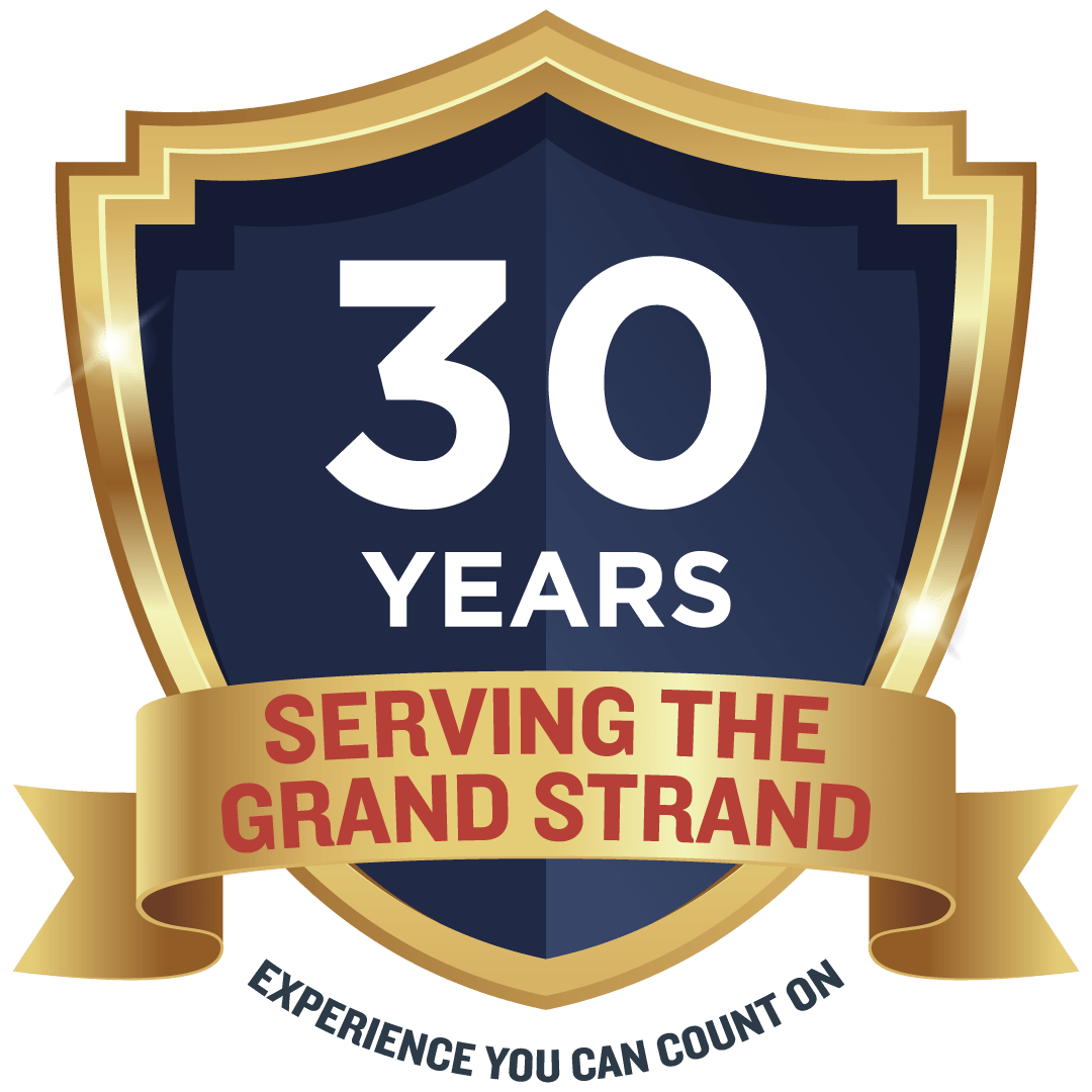 30 years in business badge