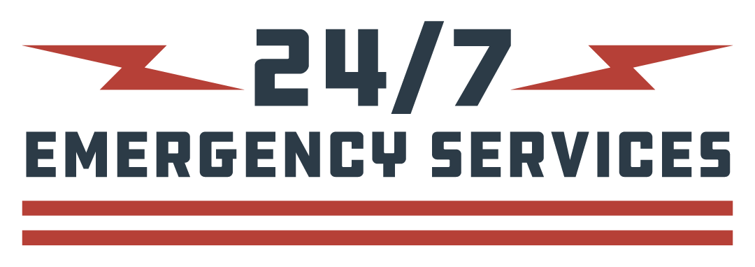 24/7 emergency services graphic