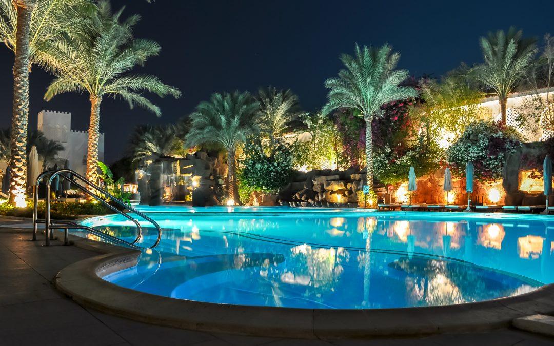 Pool Lighting for Mood and Marketing